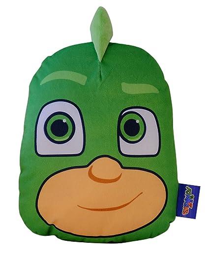 PJ pijama máscaras Gekko funda cojín, verde