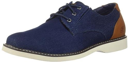 Skechers Men's Parton-WILCON Canvas Oxford, DEN, 11 Medium US best women's dress shoes