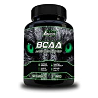 BCAA Amino Acid Support - 120 x 500mg BCAA Tablets - 2:1:1 Ratio of L Leucine, L Isoleucine & L Valine - Amino Acid Capsules Made in The UK - for Both Men & Women - Includes Free Workout Program