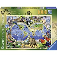 Ravensburger Word of Wildlife Puzzle 1000pc,Adult Puzzles
