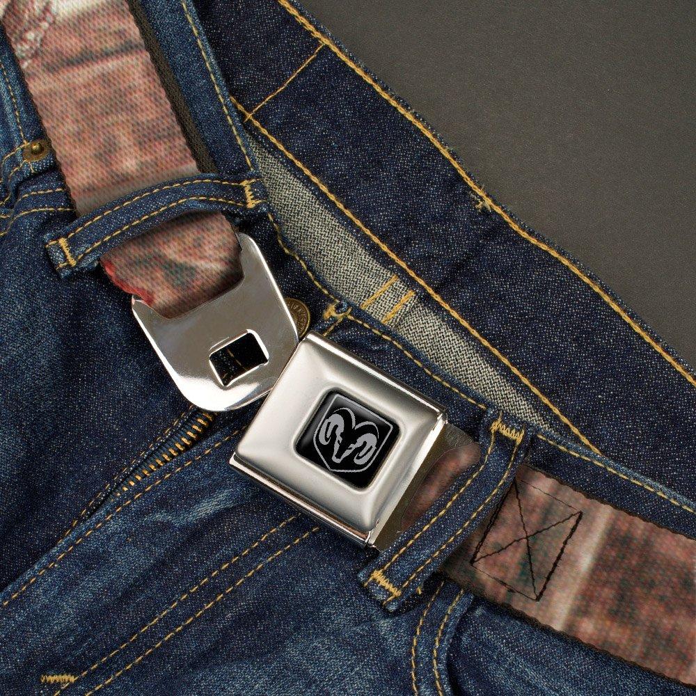 Buckle-Down Seatbelt Belt Mossy Oak Ram Regular