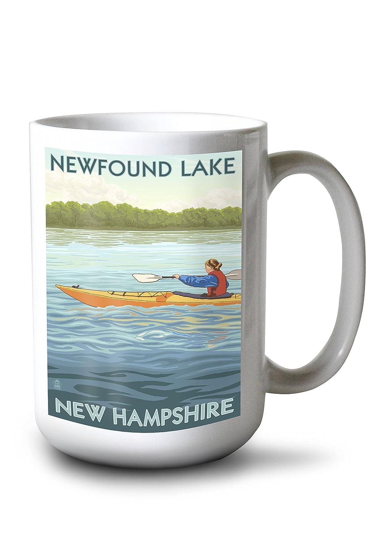 【予約販売】本 Newfound湖 LANT-42790-TT、New Hampshire B077RRZCD3 – Kayakシーン 15oz Canvas Tote Bag LANT-42790-TT B077RRZCD3 15oz Mug 15oz Mug, タキザワムラ:89d7f8d1 --- mail.mangalamstore.com