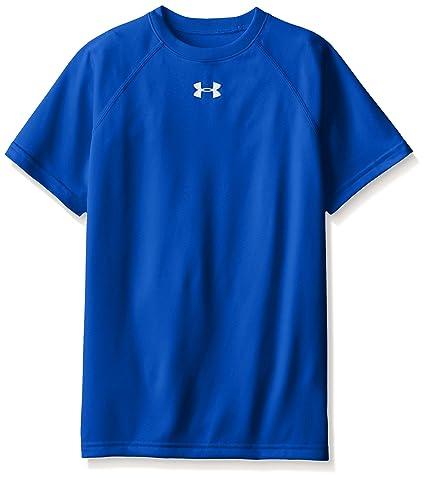 328061e2c2e4 Amazon.com  Under Armour Boys  Locker Short Sleeve T-Shirt  Sports ...