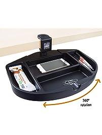 Stand Steady Original Desk Potato - Clamp-On Swivel Pencil Drawer and Desk Organizer   Unique Desk Organizer Provides...