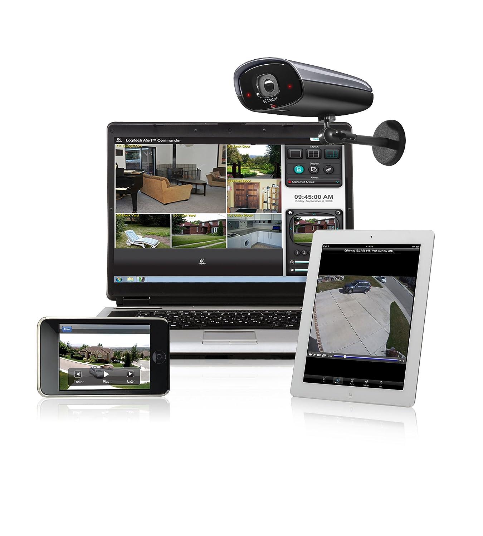 b54307f9287 Amazon.com : Logitech Alert 750e Outdoor Master - Night Vision Security  System : Surveillance Cameras : Camera & Photo