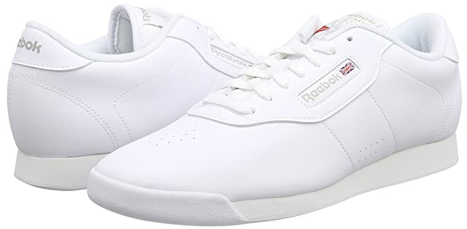 Amazon.com | Reebok Princess White White Womens Trainers 7.5 US | Fashion Sneakers
