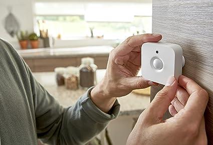Accesorios Del Sistema Philips Hue Sensor Blanco Sensores De Luz Diurna Integrados Detectores De Movimiento Inteligentes Los Sensores De Movimiento Philips Hue