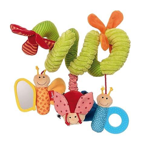 Sigikid 42249 Baby de activo juguete – Espiral mariposa – para fijar en la portabebés,