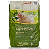 Manna Pro Layer Pellets for Chickens | Non-GMO & Organic High Protein Feed for Laying Hens | 30 Pounds