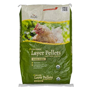 Amazon Manna Pro Organic Layer Pellets For Chickens 30 Lb