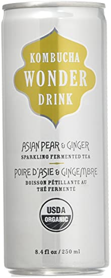 tea ginger Asian pear