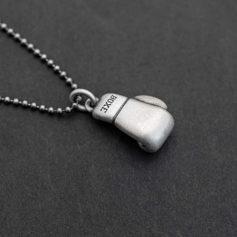 925 collar de plata esterlina para hombres colgante para hombre collar buzo m/áscara m/áscara colgante collar cadena collar n/áutico joyer/ía oxidada regalo