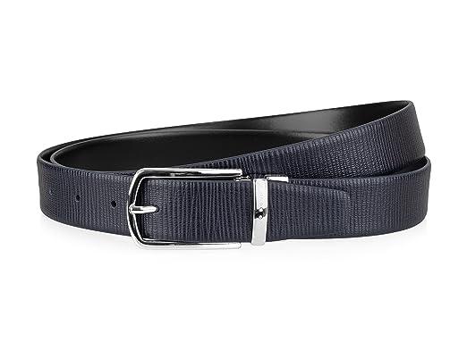 7411ffff3a9 BOSS Hugo Ceinture - Homme - Bleu -  Amazon.fr  Vêtements et accessoires