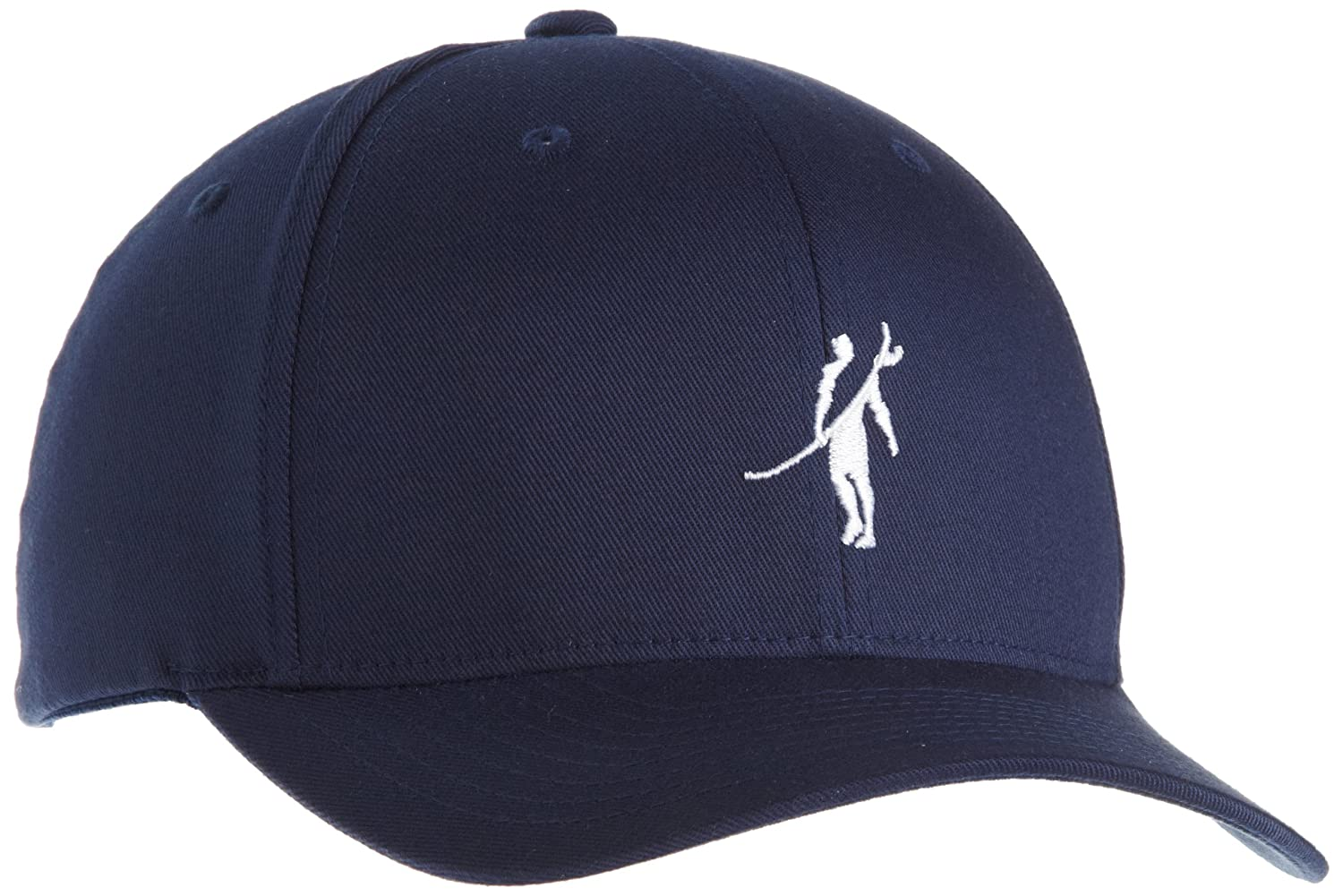0f3bfa4046730 Toes on the Nose Young Men s Shadowman Flexfit Black Hat at Amazon Men s  Clothing store  Baseball Caps
