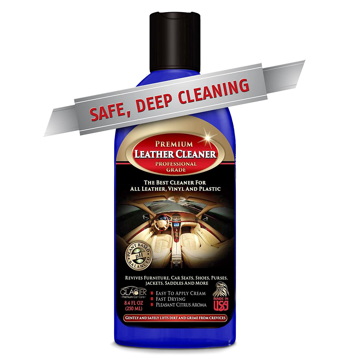Amazon Com Glacier Leather And Vinyl Cleaner With Conditioner And