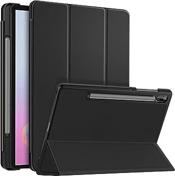 ELTD Funda Carcasa para Samsung Galaxy Tab S6 SM-T860/T865, Ultra Delgado Stand Función Smart Fundas Duras Cover Case para Samsung Tab S6 10.5 Pulgadas 2019, (Negro): Amazon.es: Electrónica