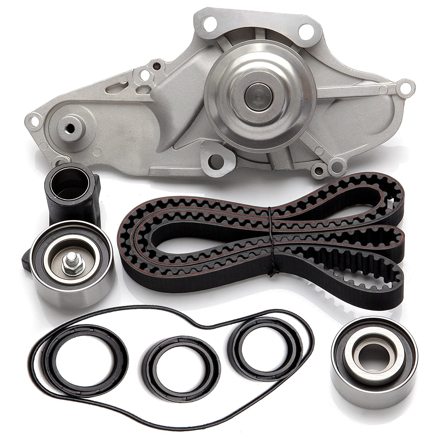 ... Timing Belt Kit Including Timing Belt Water Pump with Gasket tensioner  Bearing etc, Compatible for 2003 2004 2005 2006 2007 2008 2009 Acura MDX/2003  ...