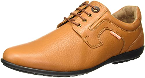 Buy Red Chief Men's Tan Leather Formal
