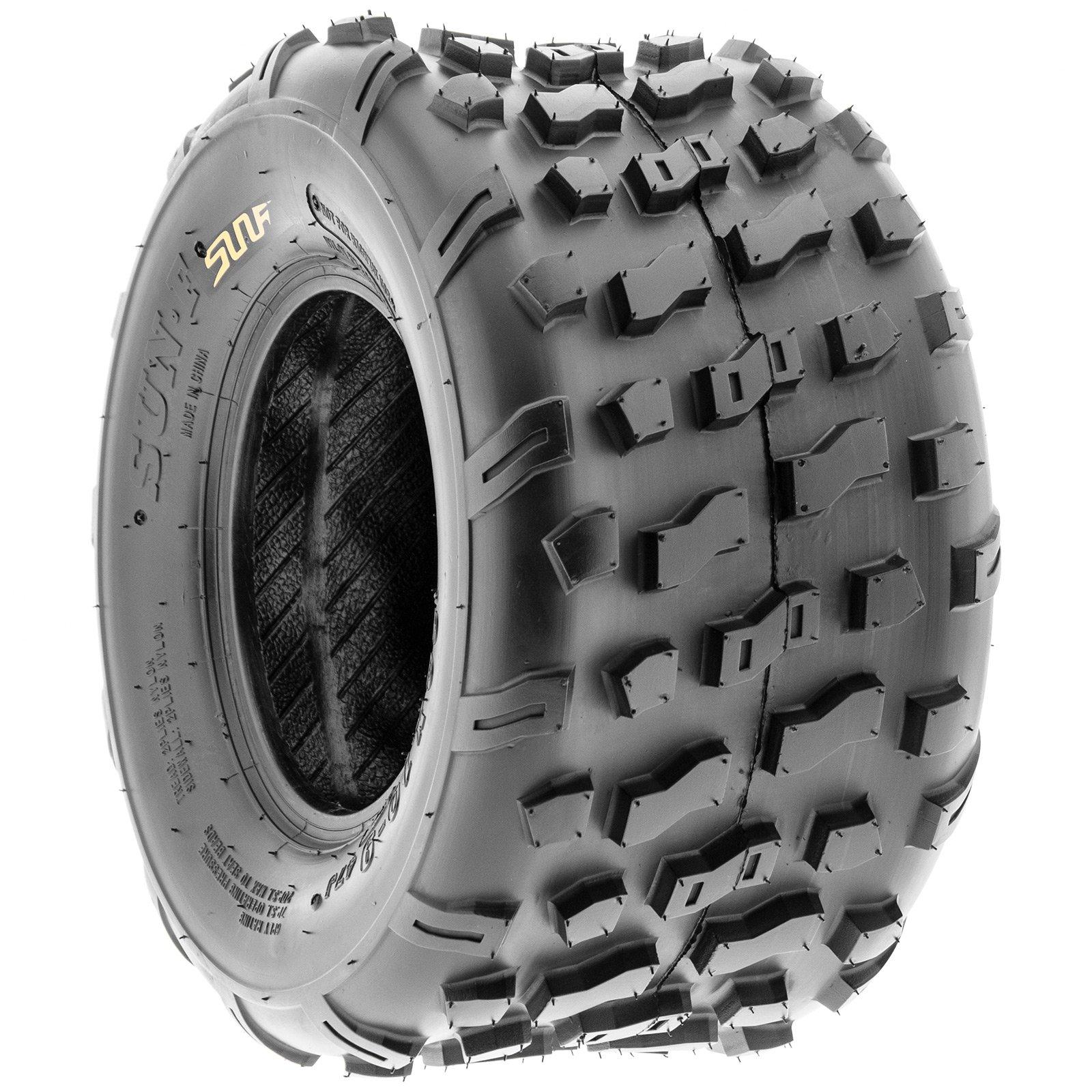 SunF Rear ATV Knobby Tires 20x10-9 20x10x9 4 PR A022 (Set pair of 2) by SunF (Image #6)