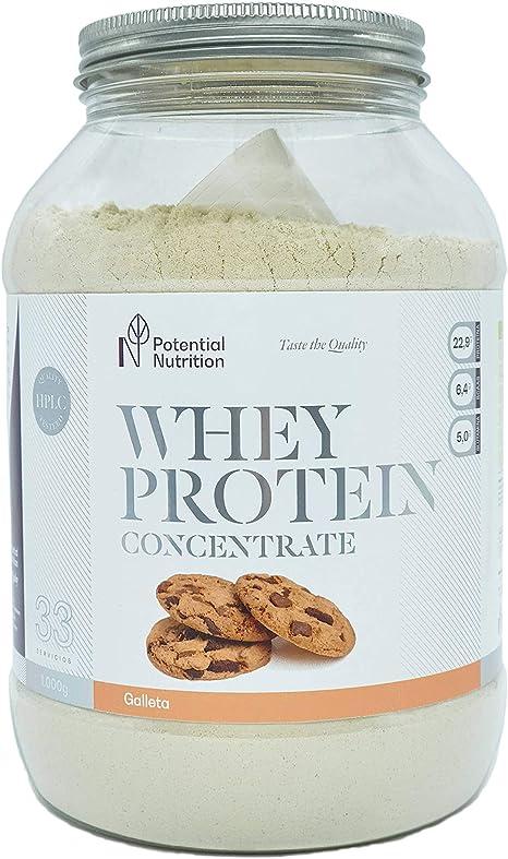 Proteina Whey Premium 1kg - Galleta - Marca España - Sin ...