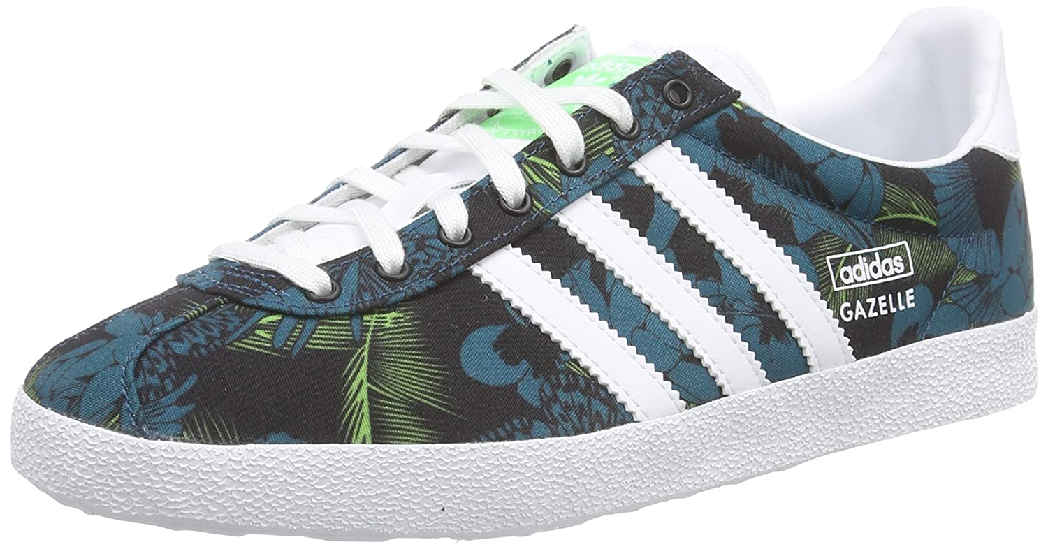 Amazon.com: adidas Originals Women\u0027s Gazelle OG W 3 Stripe Trainers - Blue  - 7 US: Sports \u0026 Outdoors