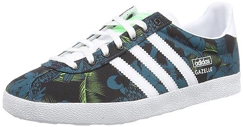 Adidas Originals Gazelle OG W Green White Floral Womens