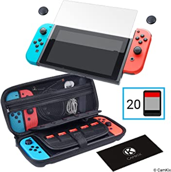 CamKix Juego de protección 4-en-1, compatible con Nintendo Switch ...