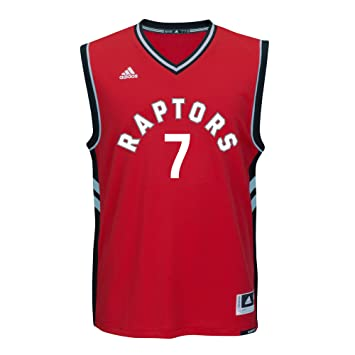 bfd94b0d6 adidas AM9730 International Replica Jersey Toronto Raptors  7 Kyle Lowry  (Red Black -