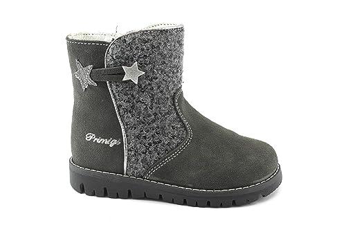PRIMIGI 2376833 23/26 Gris Zapatos niña Botas Botines Zip Suede: Amazon.es: Zapatos y complementos