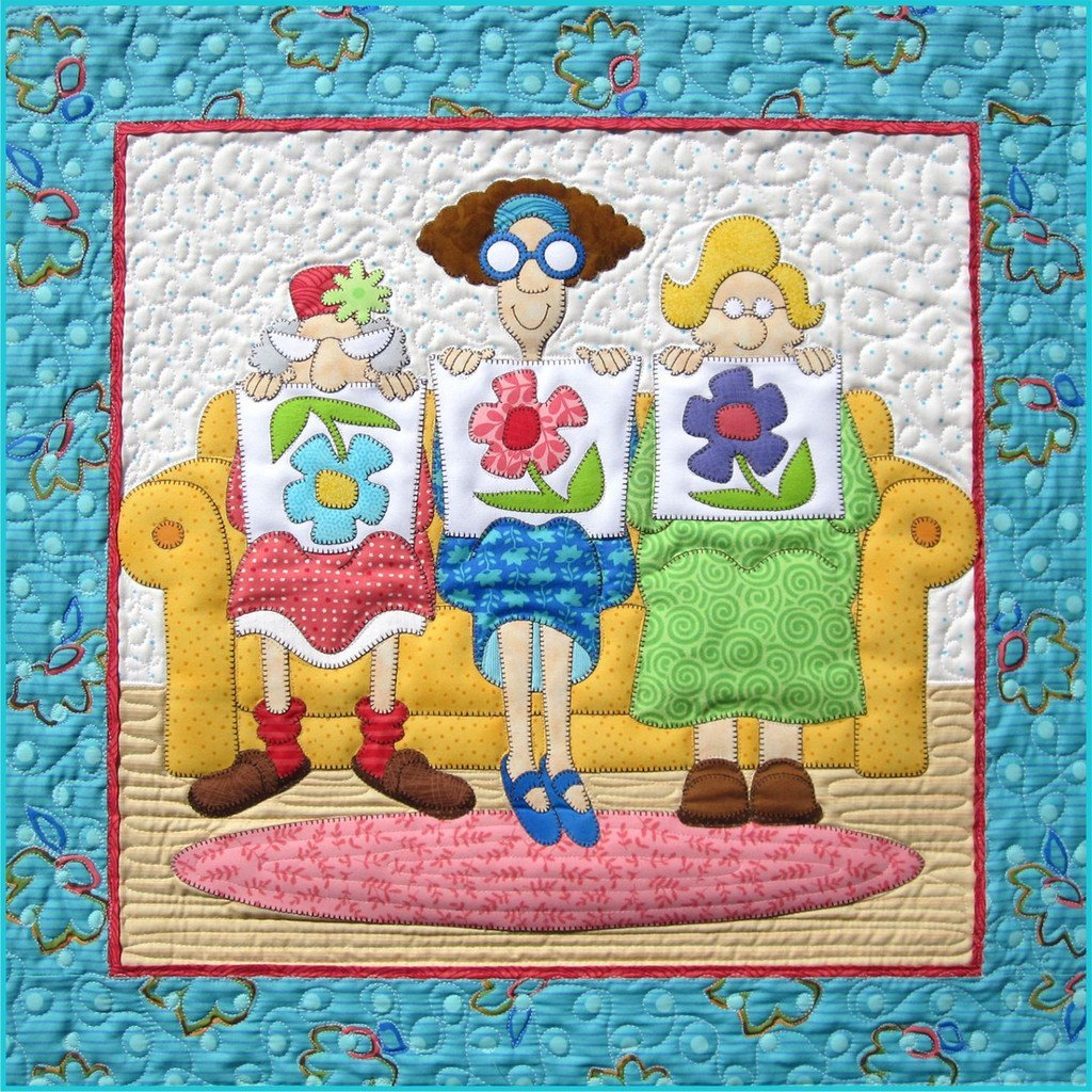 1, 2, 3 Little Quilters - Laser Cut Kit by Lone Star Laser Co