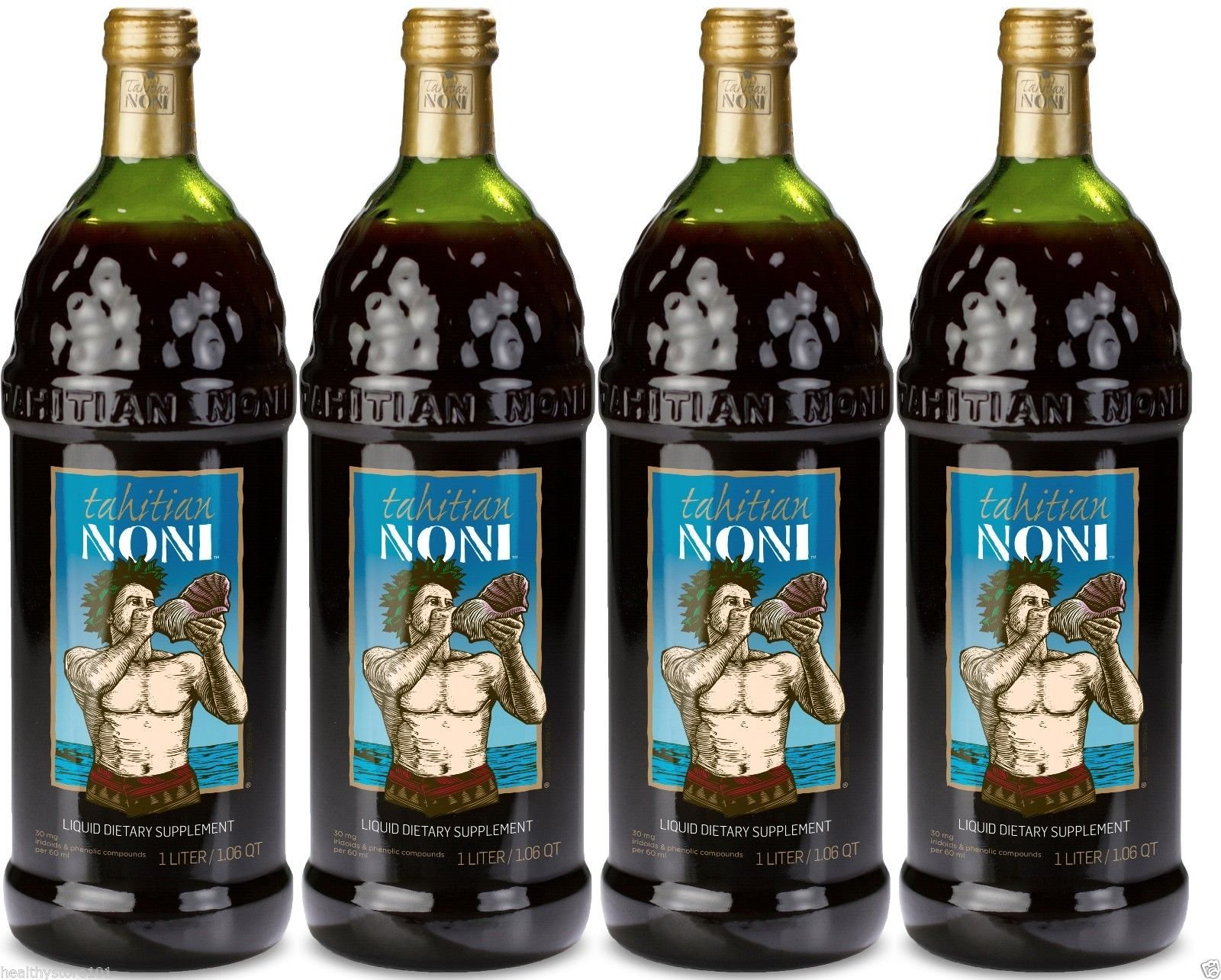 TAHITIAN NONI Juice by Morinda (4 Pack Case)