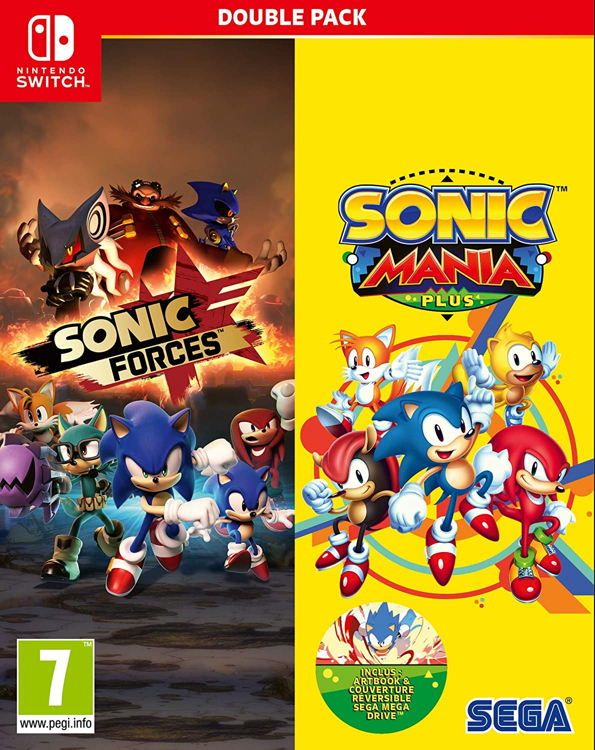 SONIC Double Pack Switch: Amazon.es: Videojuegos