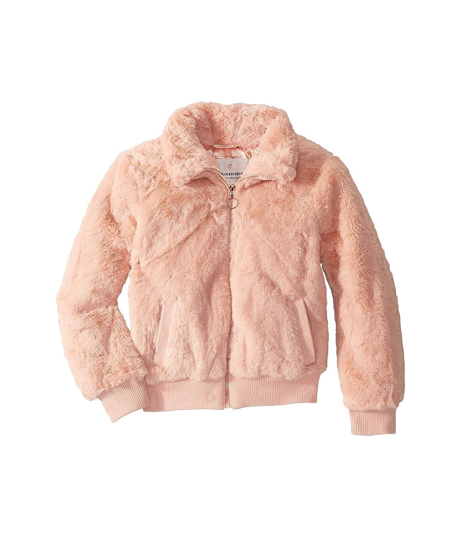 Little Kids//Big Kids Pink 5-6 Little Kids Urban Republic Kids Girls Bulky Pile Faux Fur Jacket