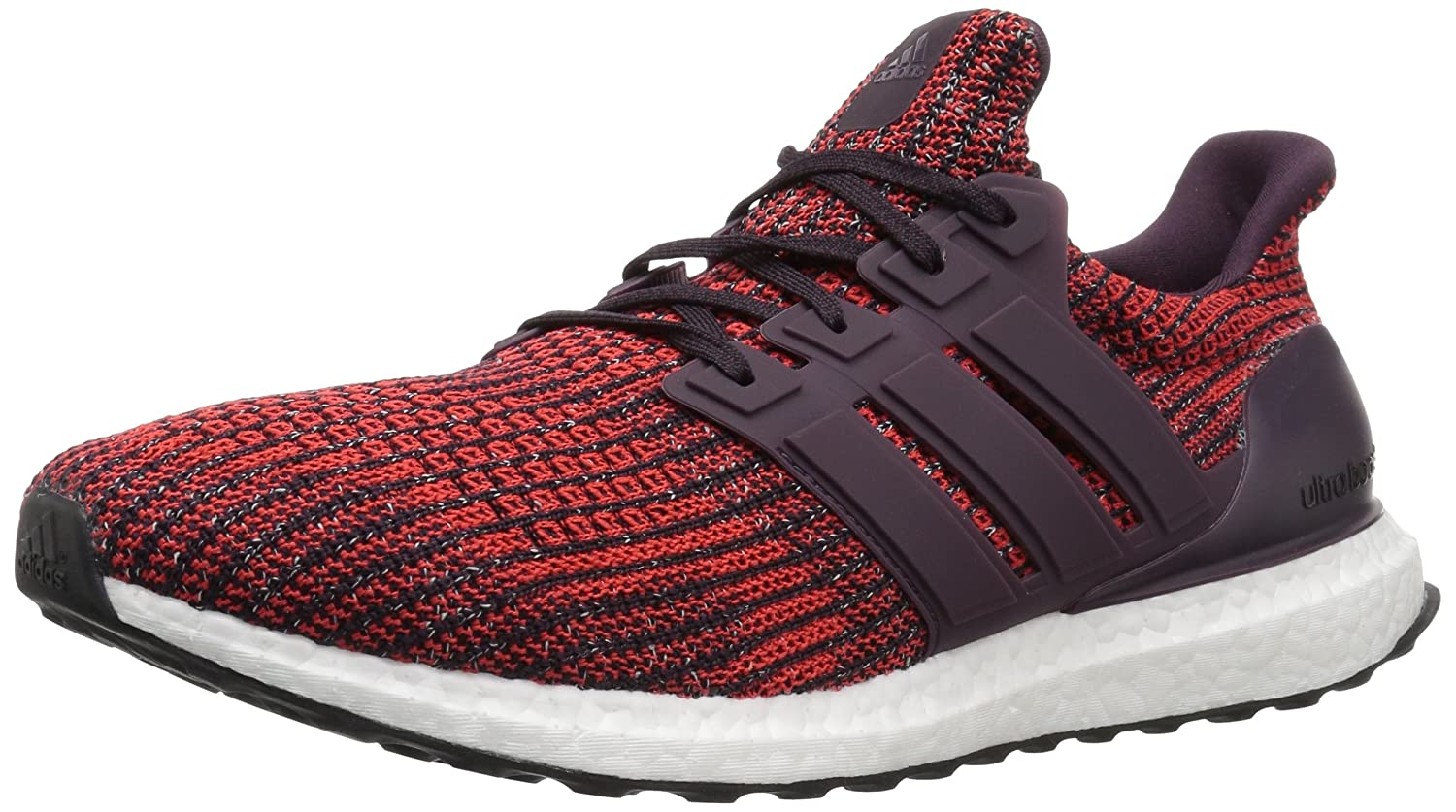 adidas Men's Ultraboost Road Running Shoe B0719HP4Y1 4.5 D(M) US|Noble Red/Noble Red/Black