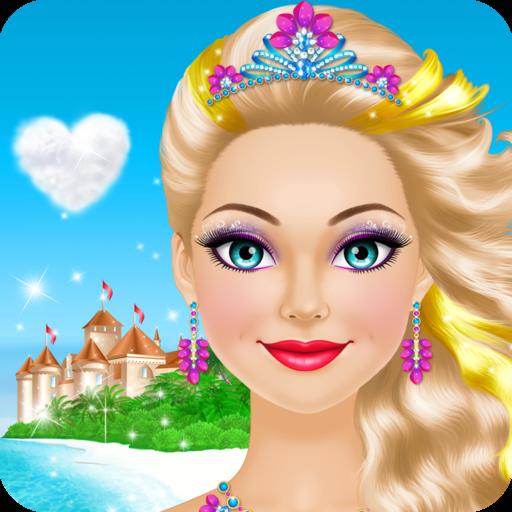 Princesa Tropical Vestir Maquillaje Juegos Para Niñas