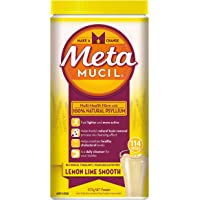 Metamucil Daily Fibre Supplement Lemon Lime Smooth, 114 Doses