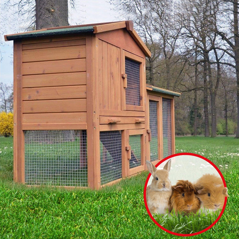 ZooPrimus Kleintier-Stall Nr 01 Kaninchen-Käfig \