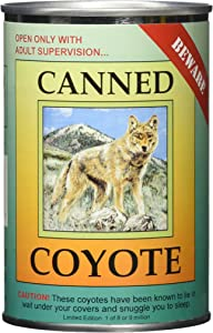 Northern Gifts Canned Critters Stuffed Animal: Coyote 6
