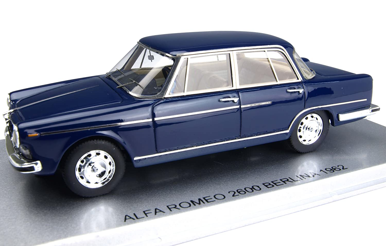 KESS 1/43 Alfa Romeo 2600 Berurina 1962 Blau (Japan-Import)