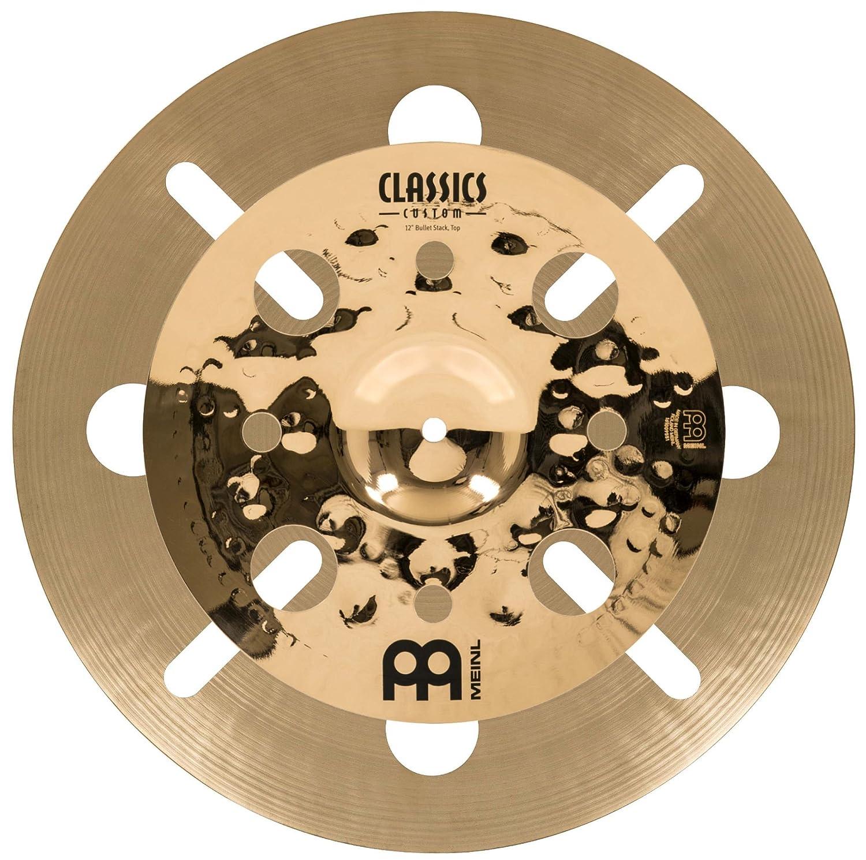 【未使用品】 MEINL Cymbals マイネル B01MS6F8X0 スタックシンバル Luke Holland Bullet Luke Stack Holland 12