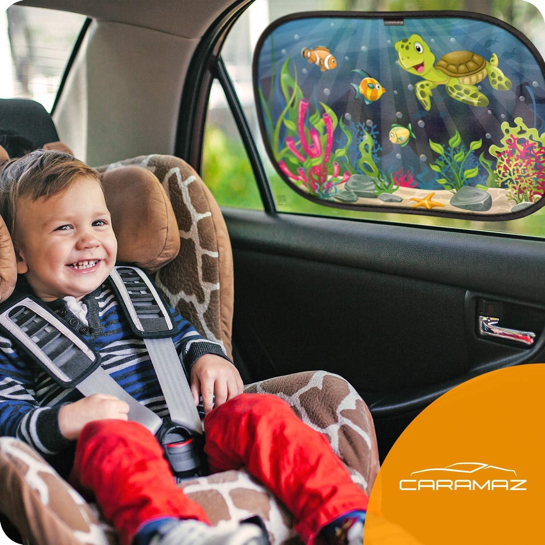 tende da sole per esterno protezione solare raggi UV Parasole bambini accessori auto 4 pcs Tendine parasole auto bambini 2 x extra scuro e 2 x il buio normale 4 pezzi 51x31cm