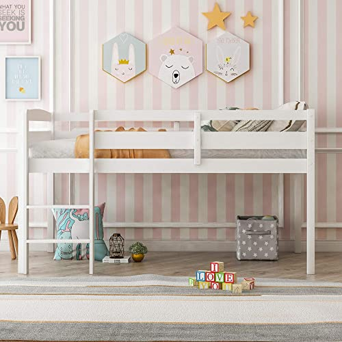 LUMISOL Junior's Low Loft Bed