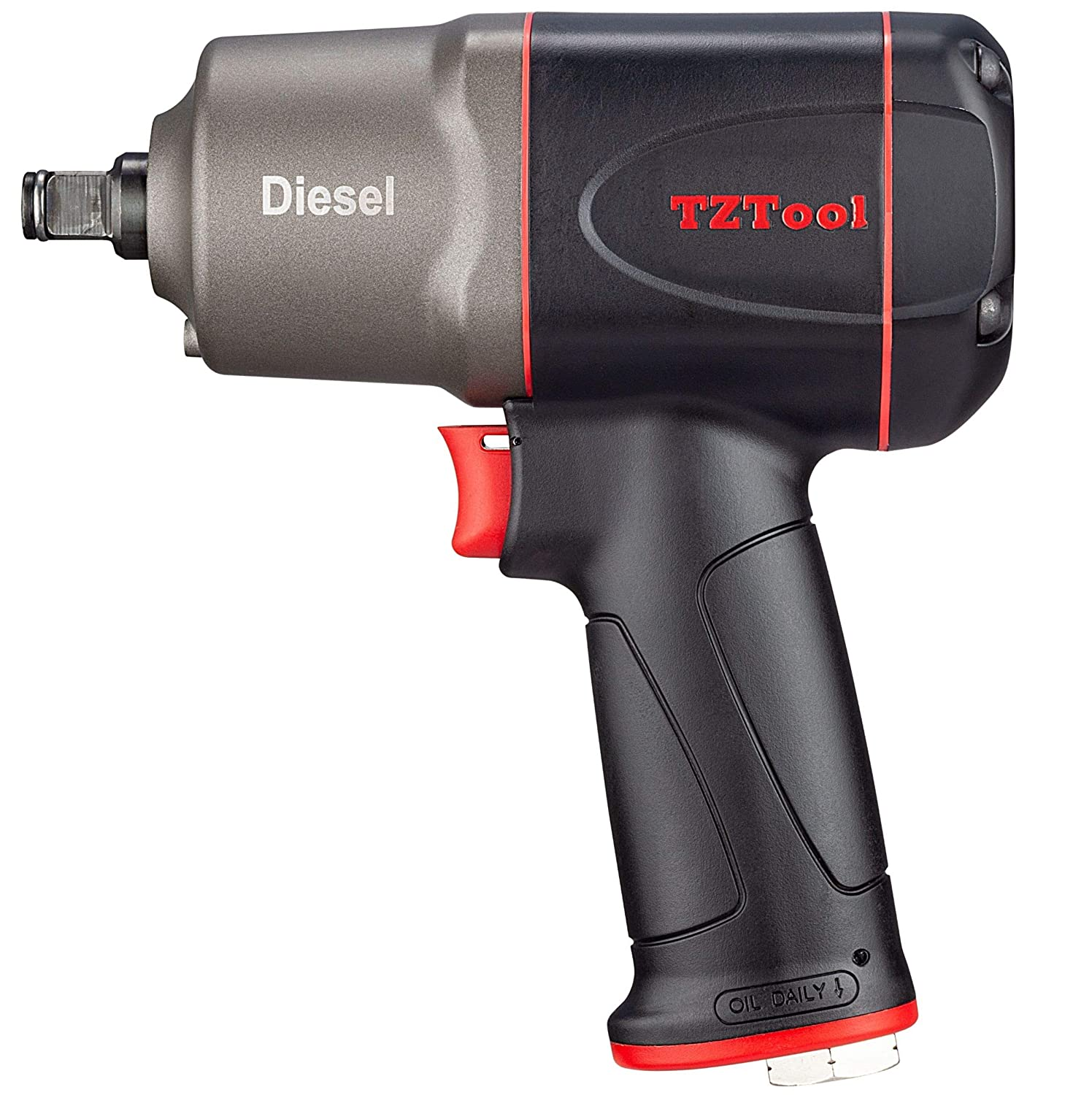 TZTool 1200 All new Diesel 1 2 Impact wrench, Ultimate torque