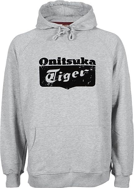 ASICS Tiger Hooded Sweater - Sudadera con Capucha, Hombre, Gris, Medium: Amazon.es: Deportes y aire libre