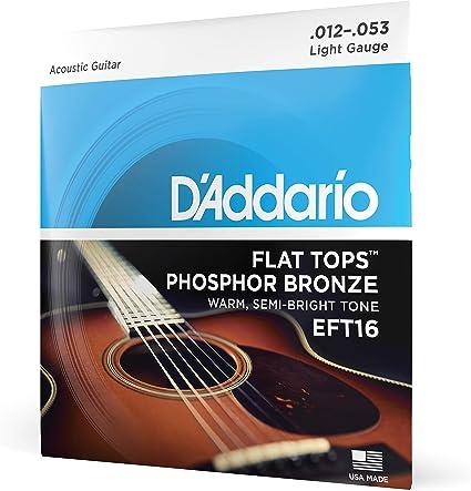 DAddario EFT16 Juego de Cuerdas, Naranja: Amazon.es: Instrumentos ...