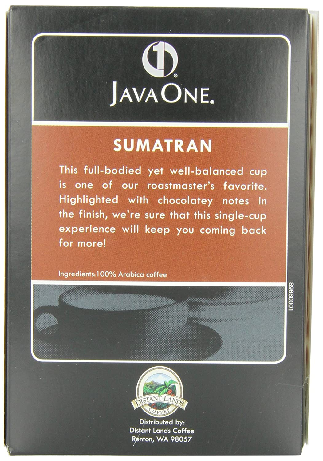 Java One Sumatra Coffee 14 Count Pods Pack Of 6 Amazon Com Grocery Gourmet Food