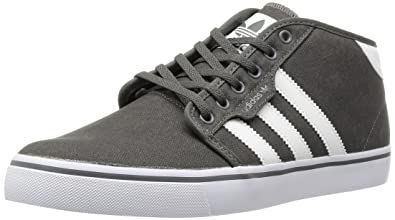 294cec63c808 adidas Originals Mens Seeley Mid-2 Trainers G98092 Dark Cinder Running White  FTW