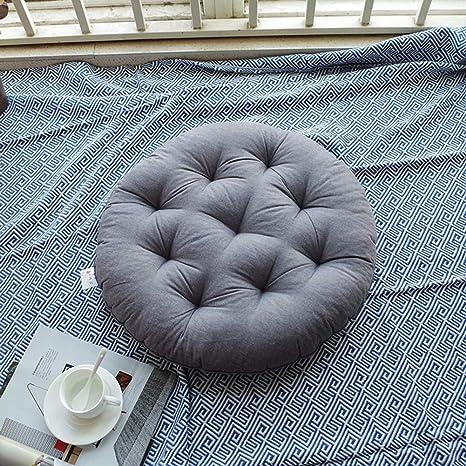 NTshg Cojines cómodos - Tela de algodón Grueso Futón Liso ...