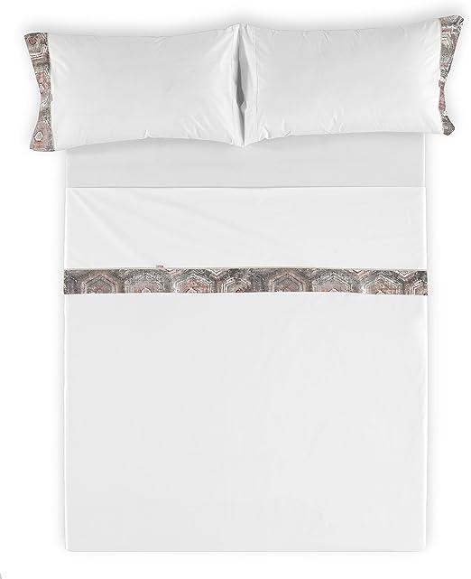 ESTELA Juego de sábanas Ceres - Cama de 160 cm (4 Piezas) - 100 ...