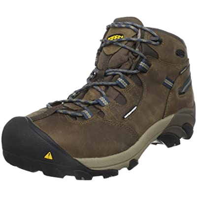 KEEN Utility Detroit Mid Steel Toe Work Boot